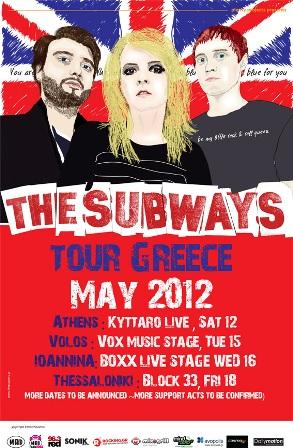The Subways - Tour Poster