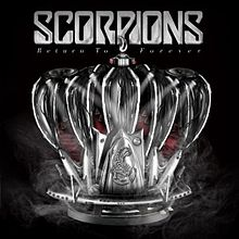 Scorpions - Return to Forever cover album