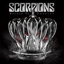 Scorpions - Return to Forever cover album