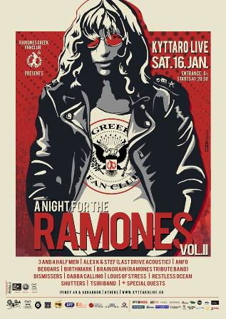 a Night for the RAMONES vol.2