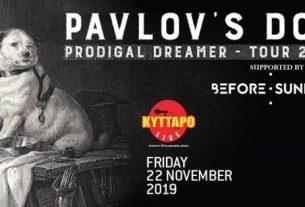Πλησιάζουν οι συναυλίες των PAVLOV'S DOG