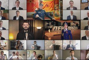 «Η Ημέρα της Νίκης» Θοδωρής Βουτσικάκης & Ορχήστρα Alexandrov Τραγουδούν ΜΑΖΙ για την ΕΙΡΗΝΗ