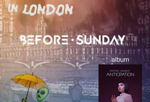BEFORE SUNDAY – Living in London