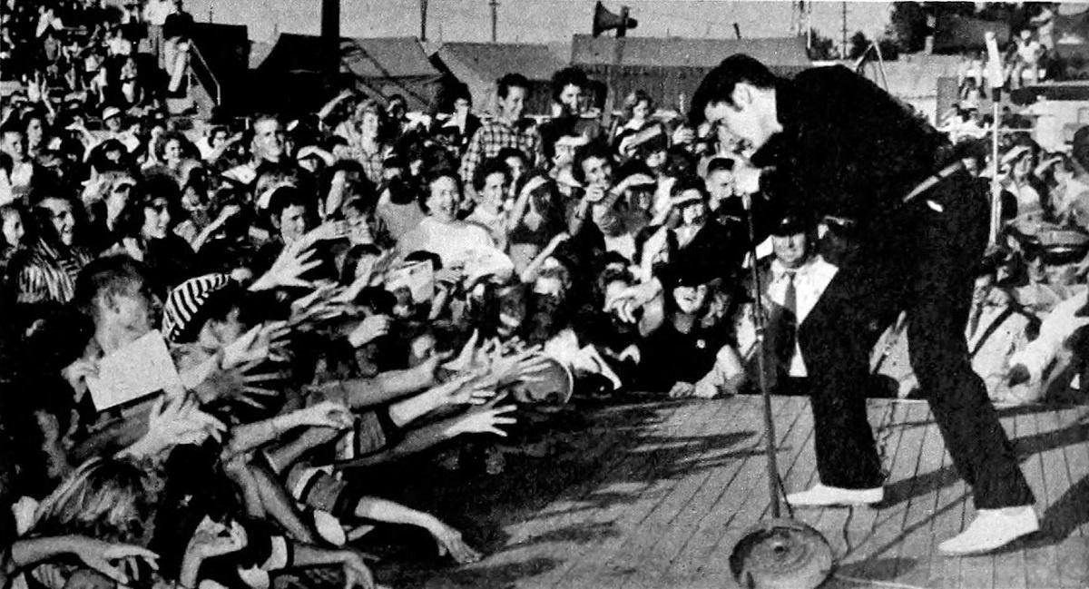 Όταν ο Elvis συνάντησε τον Gene Vincent στη Νέα Υόρκη