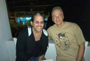 Pre-show Kip Winger, George Gakis