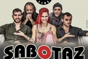 SABOTAZ the Band Live στο ''Κύτταρο''