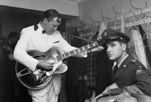 Όταν ο Elvis συνάντησε τον Bill Haley στη Γερμανία!